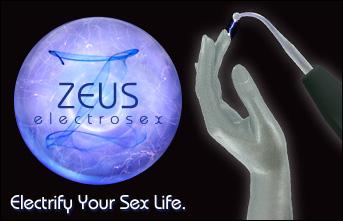 Zeus Electrosex Banner